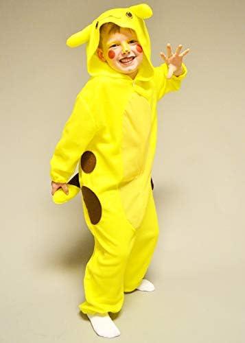Disfraz de Chinchilla Amarilla Estilo Pikachu para niños Medium (5 ...