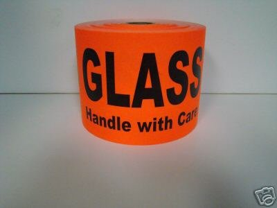 Labels BRIGHT Handle Shipping Stickers product image
