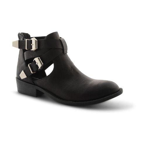 Footwear Sensation - Botines chelsea mujer Beige - negro