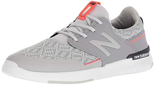 New Balance Men's 659v1 All Coast Skate Shoe, Grey/Flame, 14 D US