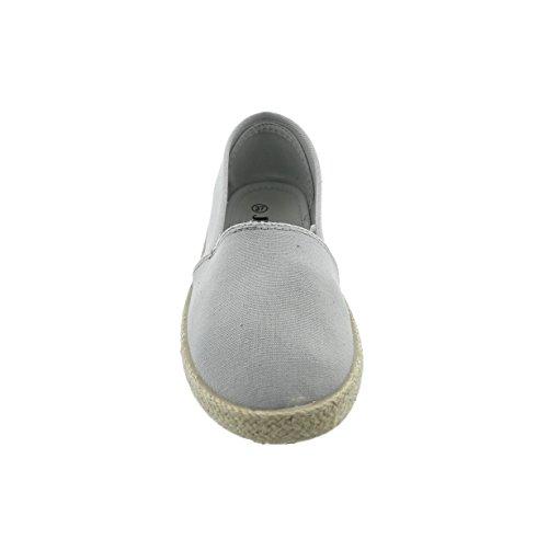 Jumex ZY9048, Mocassins pour Femme () EU Grau (Zy9048-grey)