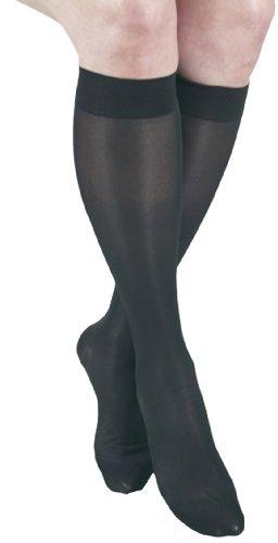 GABRIALLA Sheer Леггинсы, сжатие (20-22 мм рт.ст.), черный, средний, 2 Граф