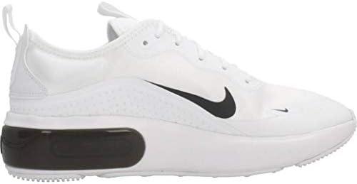 Nike Women's Running Shoe, White Black, 8 US
