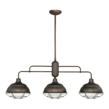 Neo industrial 3 light kitchen pendant finish rubbed bronze neo industrial 3 light kitchen pendant finish rubbed bronze aloadofball Gallery