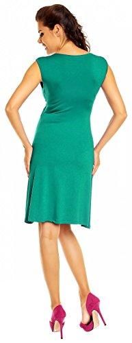 Zeta Ville Mujeres Maternidad Lactancia Materna Lisonjero Verano Vestido 256c Verde Azulado