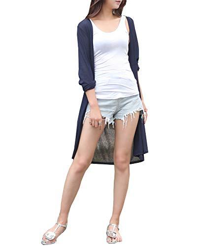 DAILY NJ【ag33】【ノーブランド品】 レディース ロングカーディガン 透け感 涼しい カジュアル ロング丈 バカンスルック 涼しい UV対策 冷房対策 大人可愛い 韓国ファッション