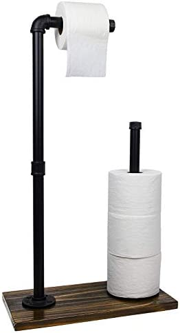 Toilet Paper Holder Stand Industrial