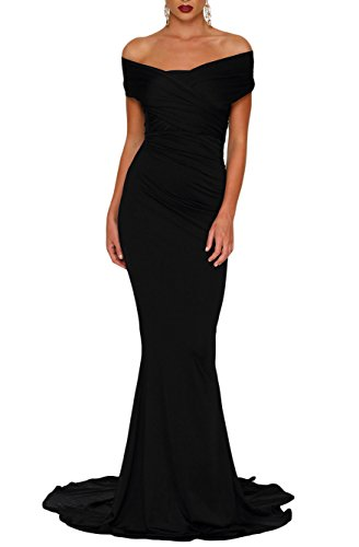 long black elegant prom dresses - 6