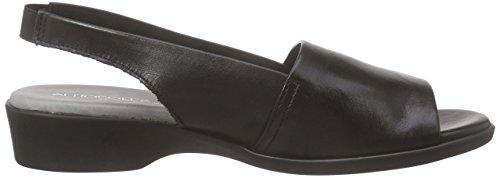 Aerosoles Women's Cush Flow Open Toe Sandals Black (Black) M5qmce1P