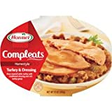compleat food container - Hormel Compleats Turkey & Dressing With Gravy Microwave Bowls, 10 oz (5 Pack)