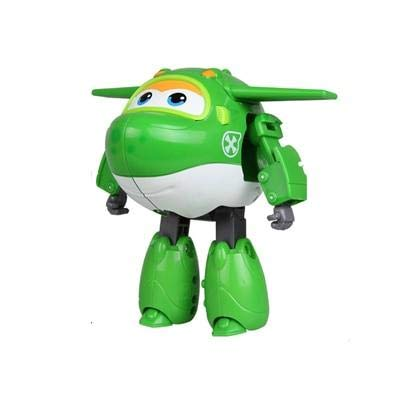 HANEUL LLC KR 15cm ABS Super Win.gs Deformation Airplane Ro.b.ot Action Figures Super Wi.ng Transformation Toys for Children Gift Color No Box MIRA: Toys & Games