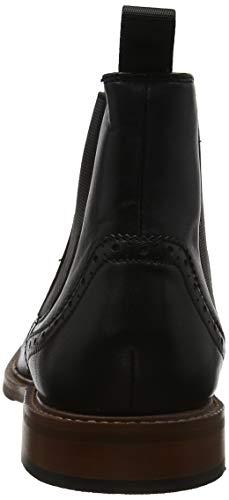 Buckingham Stivali Steptronics 001 Chelsea Uomo Black Nero ORgxqdSgw