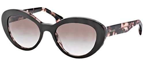 Prada 15QS ROL0A6 Brown and Pink Tortoise 15Qs Portrait Cats Eyes Sunglasses Le (Prada Cat Eye Glasses Frames)