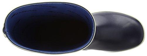 Viking Fjord Unisex Erwachsene Halbschaft Gummistiefel Blau (Navy 5)