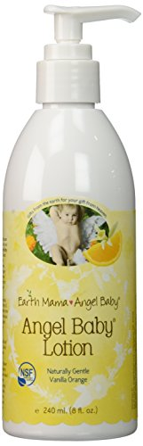 Earth Mama Angel Baby Angel Baby Lotion, 8-Ounce Bottle (Pack of 2)