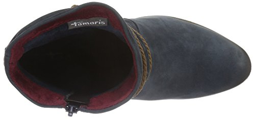 Tamaris 25387, Botines para Mujer Azul (NAVY 805)