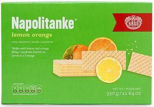 Napolitanke Lemon and Orange Wafers 330g ()