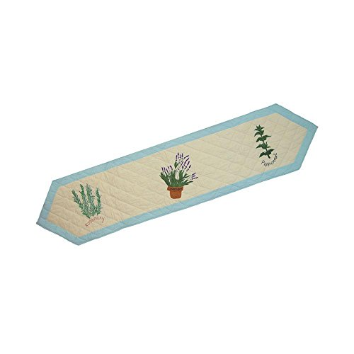 Patch Magic Herb Garden Table Runner, 72-Inch by 16-Inch