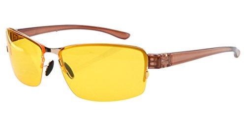Eyekepper Half-rim Thin Polycarbonate Plastic Sunglasses (Polycarbonate Rim)