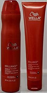 Wella Brilliance Normal Shampoo Conditioner