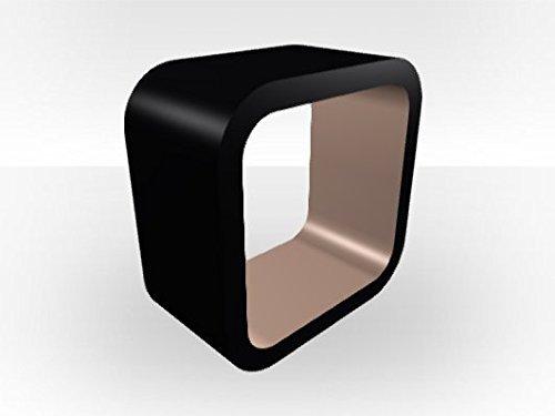 Zespoke Black Outer Aquarium Cube - Cappuccino Gloss Inner by Zespoke