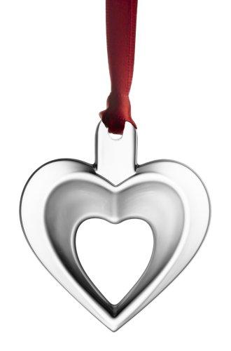 Orrefors 2007 Annual Ornament, Heart Orrefors Annual