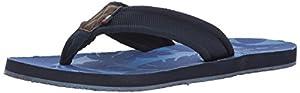 Tommy Hilfiger Men's Deluxe Shoe, Navy, 8 Medium US