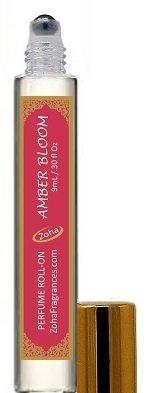 Amber Bloom (Roll-On) Amber Perfume Oil by Zoha Fragrances, 9ml/0.30fl Oz (Amber Vanilla Perfume Oil)