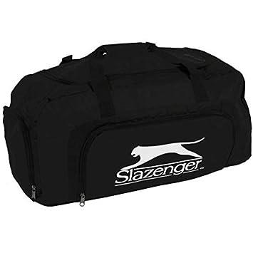 3ea727a300 Slazenger Large Sports Travel Gym Bag With Shoe Compartment – Black