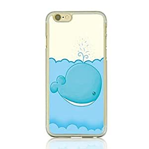 DD Whale Leather Vein Pattern PC Hard Case for iPhone 6 Plus