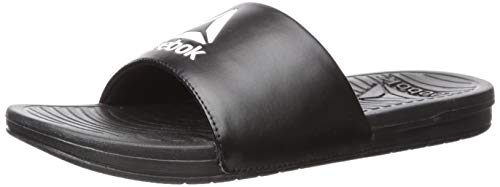 Reebok Athletic Sandals - Reebok Women's Women's Condition Slide Sandal, Black/White, 10 B US