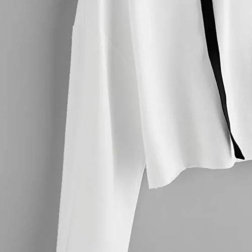 Sweatshirt Chemises Sweatshirt Women Solid Arrtez Lettres Imprim Long Lache Pullover Automne Court Tops Piebo Blanc Longues Mignon Pulls Encapuchonn Vous Blouse Hoodie Haut Femmes Manches Hoodie Tops U8qCwwdx4