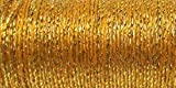 Cheap Kreinik No.8 Fine Metallic Braid, 11-Yard, Golden Chardonnay