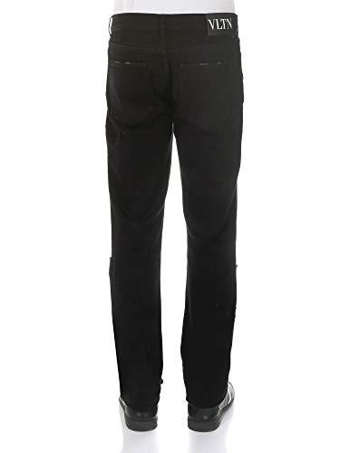 Valentino Jeans Cotone Uomo Nero Qv3dek2jctl0no T0wTYFq
