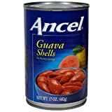 Ancel Guava Shells In Syrup / Cascos De Guayaba En Almibar.