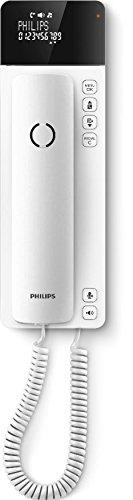 Philips M110W/38 SCALA schnurgebundenes Designtelefon weiß