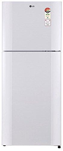 LG 407 L 4 Star   2019   Frost Free Double Door Refrigerator GL I452TAWL, Aria White, Inverter Compressor