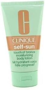 Clinique Self-Sun de Clinique Unisex. Loción corporal bronceadora hidratante pack de 1 unidad de 150 ml.: Amazon.es: Belleza