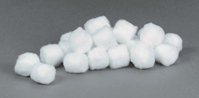 TIDI 969164  Cotton Ball, X-Large (Pack of 2000)