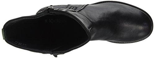 Noir Rekia Femme Motardes Bottes Noir Kickers 7IYqFwq