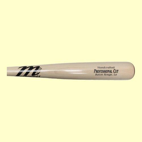 Marucci Pro Cut Maple White Wash Wood Baseball Bat, 33