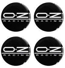 Juego de 4 autoadhesivos de 60 mm con logotipo OZ Racing para tapacubos y llantas