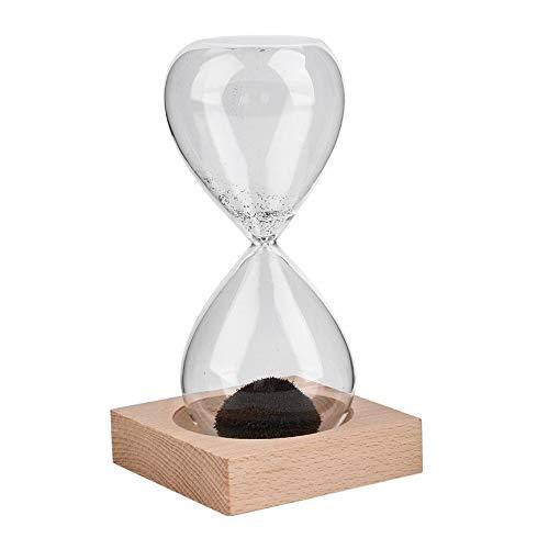 Clessidra magnetica con sabbia ideale come regalo di Natale soffiata a mano