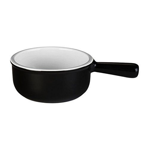 French Dinnerware Soup Bowl (Le Creuset Stoneware 16-Ounce French Onion Soup Bowl, Black)