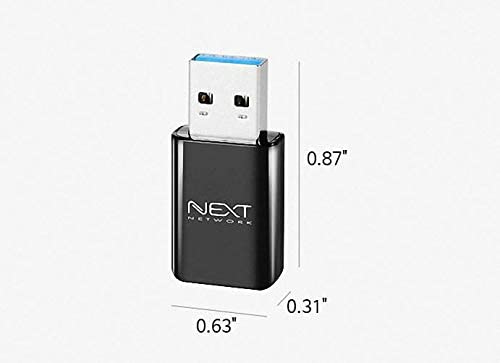 Next USB3.0 Mini Wireless LAN Card WiFi Network Adapter with Windows7,8,8.1,10,Linux