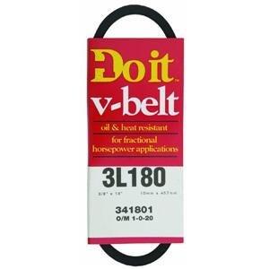 Pulley V-belt Gates Rubber - Do it 3/8 Top x 40 Degrees Bevel (for A Pulley) V-Belts