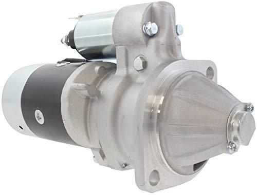 New Premium Starter fits Hitachi/Yanmar Dsl Engine 1996-2008 Komatsu Backhoe Loaders, Gehl Skid Steer CTL60, Mustang MEL16, Takeuchi TL130 S13-138 S13-138A RYM129953-77019 129953-77010 129953-77011