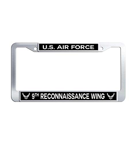 - Nuoyizo US Air Force 108th Air Refueling Wing Metal Car tag Frame Waterproof Stainless Steel Car tag Frame(1 pic, 12.25