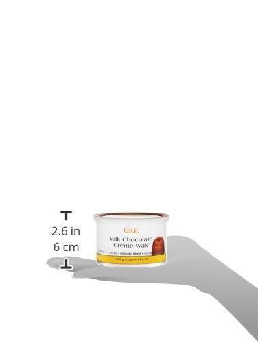 Gigi - Cera depilatoria de chocolate con leche con mezcla aromática para todo tipo de pieles (396 g): Amazon.es: Belleza