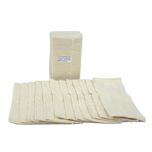 OsoCozy Gauze Diaper Unbleached Doublers